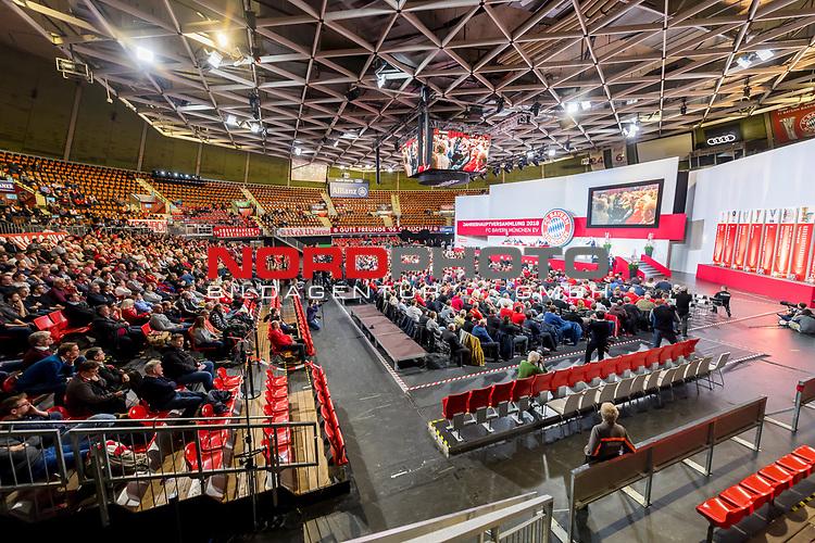 30.11.2018, Audi Dome, Muenchen, GER, FC Bayern Jahreshauptversammlung 2018, im Bild uebersicht Jahreshauptversammlung 2018<br /> <br /> Foto © nordphoto / Straubmeier