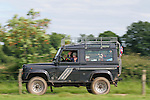 1990s Land Rover Defender 90 tdi 300 Station Wagon. Dunsfold Collection of Land Rovers Open Day 2011, Dunsfold, Surrey, UK. --- No releases available, but releases may not be necessary for certain uses. Automotive trademarks are the property of the trademark holder, authorization may be needed for some uses.