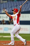 Chang Ray (CHN), .February 27, 2013 - WBC : .2013 World Baseball Classic, Exhibithion Game .match between China 1-8 ORIX Buffaloes .at Kyocera Dome, Osaka, Japan..(Photo by AJPS/AFLO SPORT)