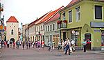 Chełmno, 2011-07-10. Ulica Grudziądzka