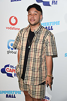 Jax Jones in the press room for the Capital Summertime Ball 2018 at Wembley Arena, London, UK. <br /> 09 June  2018<br /> Picture: Steve Vas/Featureflash/SilverHub 0208 004 5359 sales@silverhubmedia.com