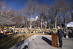 Several hundred people attend a &quot;Nevada Supports School Choice&quot; rally in support of educational choices on the Capitol grounds in Carson City, Nev., on Wednesday, Jan. 28, 2015.<br /> Photo by Cathleen Allison