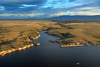 Sunset on lake Pueblo