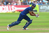 Varun Chopra in batting action for Essex during Gloucestershire vs Essex Eagles, NatWest T20 Blast Cricket at The Brightside Ground on 13th August 2017