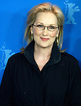 """14 February 2012 Berlin Germany. Actress MERYL STREEP poses for photographers at the photocall for the film """"The Iron Lady"""" during the 62nd Berlin International Film Festival Berlinale."""