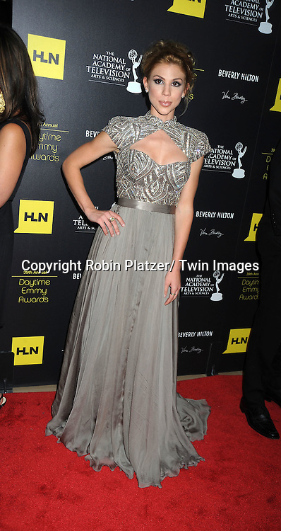 Kate Mansi attends the 39th Annual Daytime Emmy Awards on June 23, 2012 at the Beverly Hilton in Beverly Hills, California. The awards were broadcast on HLN.