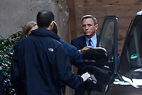 Daniel Craig<br /> Roma 18-02-2015 Campidoglio. In occasione del'inizio delle riprese del nuovo 007 a Roma, visita dei due attori al Campidoglio.<br /> Due to the new dil of James Bond, 007, that will be set in Rome, actors Daniel Craig and Monica Bellucci visit the Campidoglio<br /> Photo Samantha Zucchi Insidefoto