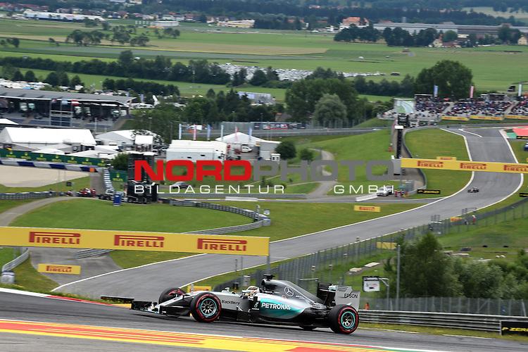 18.-21.06.2015, Red Bull Ring, Spielberg, AUT, FORMULA 1 GROSSER PREIS VON &Ouml;STERREICH, im Bild  Lewis Hamilton (GBR), Mercedes GP<br />  Foto &copy; nph / Mathis