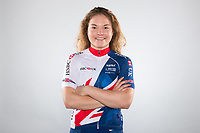 Picture by Alex Whitehead/SWpix.com - 11/10/2017 - British Cycling - Great Britain Cycling Team Senior Academy Portraits - HSBC National Cycling Centre, Manchester, England - Milly Tanner.