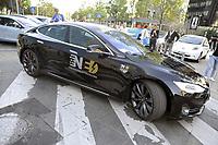 """- Milano, primo raduno internazionale dei veicoli elettrici """"E_mob2018 è  tempo di ricarica!""""<br /> <br /> - Milan, the first international meeting of electric vehicles """"E_mob2018 is charging time!"""""""
