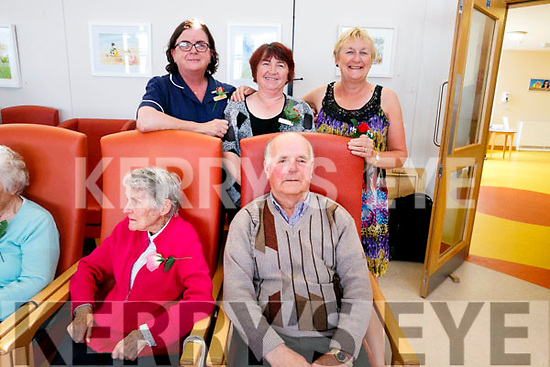 At the Baile Mhuire Tea Dance on Tuesday were  Phil Barrett, Gerald Hickey Back Rose Daly Margaret Nugent, Denise Leahy