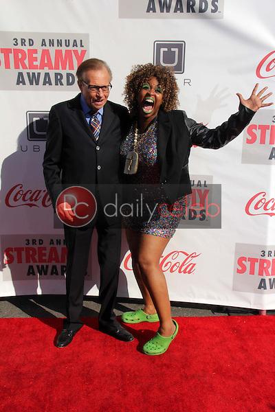 Larry King<br /> at the 3rd Annual Streamy Awards, Hollywood Palladium, Hollywood, CA 02-17-13<br /> David Edwards/DailyCeleb.com 818-249-4998