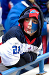 24 December 2006: Buffalo Bills fan awaits the team introductions prior to a game against the Tennessee Titans at Ralph Wilson Stadium in Orchard Park, New York. The Titans edged out the Bills 30-29.&amp;#xA; &amp;#xA;Mandatory Photo Credit: Ed Wolfstein Photo<br />