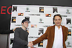 "Jon Lindstrom - As The World Turns ""Craig Montgomery"", General Hospital & Santa Barbara ""Kevin Collins"" and Santa Barbara ""Mark McCormick"" came to support Kristos Andrews (who stars in the film) at The private Industry Screening of ""The Southside"", A Lany Film Tribute to Robert Areizaga, Jr. on February 27, 2012 at Tribeca Cinemas, New York City, New York.  (Photo by Sue Coflin/Max Photos)"