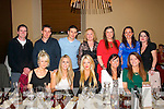 Enjoying new years eve in the Stonehouse,Tralee last Tuesday night were (seated)L-R Jullette&Jane Costello,Sinead Scannell,Elaine Riordan&Martina Sheehan(back)L-R alan Sheehan,Mark&Tony Costello,Sherma McBride,Debbie Guerin,Sharon Costello and Lisa Samy