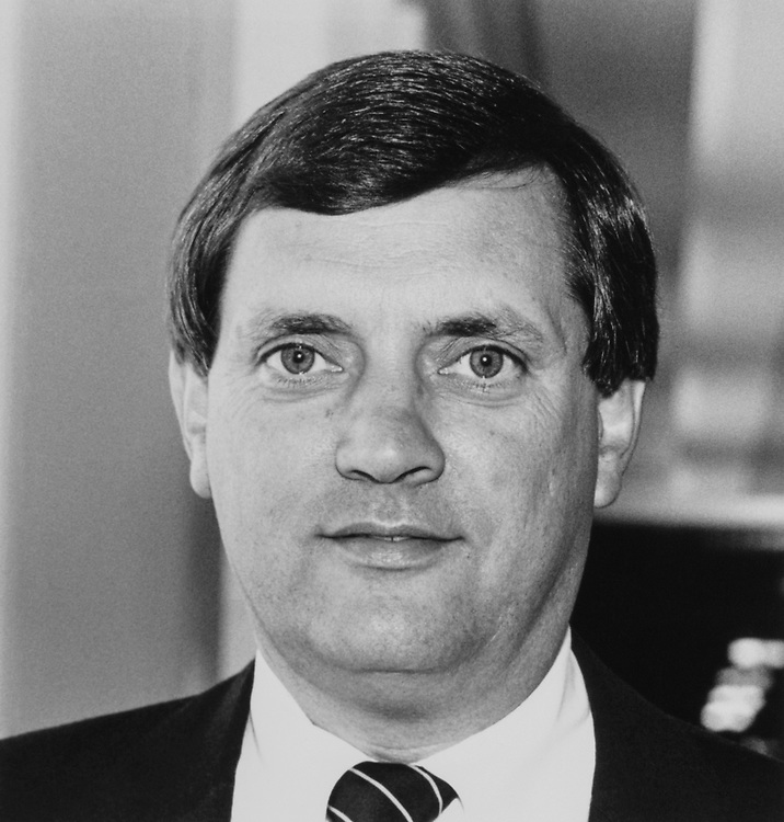Rep. Lewis F. Payne, D-Va. on June 26, 1989. (Photo by Maureen Keating/CQ Roll Call)