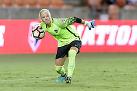 Houston, TX - Saturday July 15, 2017: Jane Campbell during a regular season National Women's Soccer League (NWSL) match between the Houston Dash and the Washington Spirit at BBVA Compass Stadium.