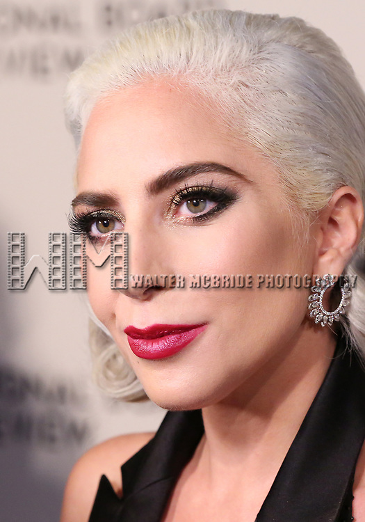 Lady Gaga attends the 2019 National Board Of Review Gala at Cipriani 42nd Street on January 08, 2019 in New York City.
