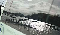 Putney, London,  Tideway Week, Championship Course. River Thames, Reflections, OUWBC and CUWBC, Boating outside Thames RC, <br /> <br />  Saturday  01/04/2017<br /> <br /> [Mandatory Credit; Credit: Peter SPURRIER/Intersport Images.com ]
