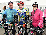 Jim Gorman, Bernard Gogarty and Stella Hickey who took part in the Ras Cabhru in aid of Drogheda Homeless Aid. Photo:Colin Bell/pressphotos.ie