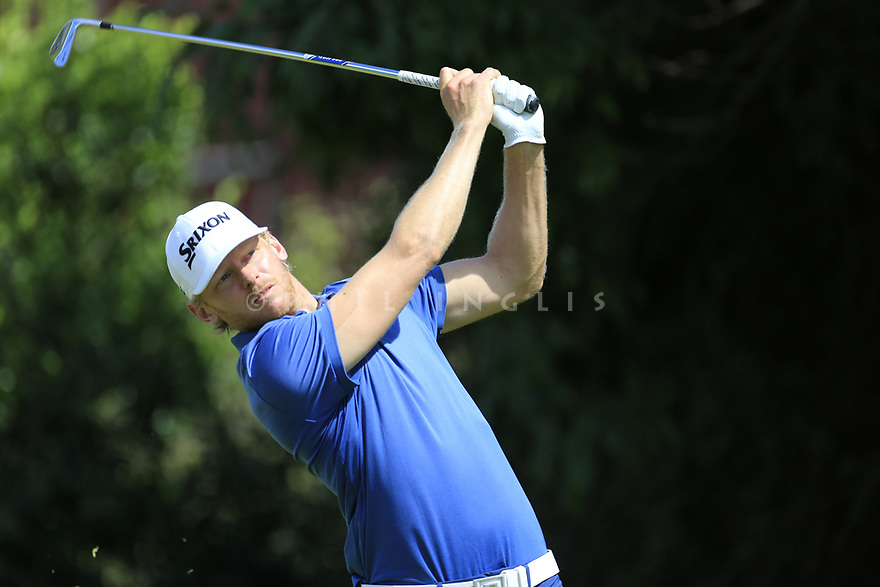 Sebastian Soderberg (SWE) during the third round of the Barclays Kenya Open played at Muthaiga Golf Club, Nairobi, Kenya 22nd - 25th March 2018 (Picture Credit / Phil Inglis) 22/03/2018<br /> <br /> <br /> All photo usage must carry mandatory copyright credit (&copy; Golffile | Phil Inglis)