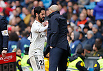 Real Madrid CF's Isco Alarcon during La Liga match. April 06, 2019. (ALTERPHOTOS/Manu R.B.)