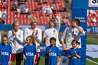 FRISCO, TX - MARCH 11: Carly Telford #1 of England during a game between England and Spain at Toyota Stadium on March 11, 2020 in Frisco, Texas.