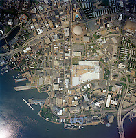 1999 August 28..Aerial..Verticals of Downtown Norfolk Area..Gene Woolridge.NEG# 11998-14.NRHA#..