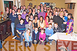 Chris Eagan, Coolick, Kilcummin pictured with family and friends as he celebrated his 21st birthday in the Old Killarney Inn, Aghadoe on Saturday night.