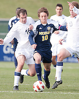 Sunday November 14th, 2010. The University of Michigan Men's Soccer team defeated Penn State University 4-1  and winning the 2010 Men's Big Ten Soccer Tournament.
