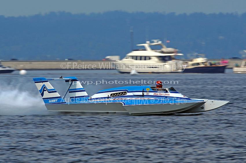 Chip Hanuaer, U-1 Atlas Van Lines