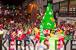 The parade passes through Market Cross at the Christmas in Killarney parade on Friday night