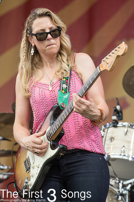 Susan Tedeschi of Tedeschi Trucks Band performs during the 2015 New Orleans Jazz & Heritage Festival in New Orleans, Louisiana.