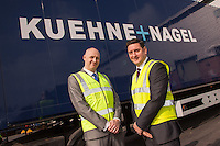 Pictured is Dave Smith (left) and Nick Setaro both of Kuehne + Nagel