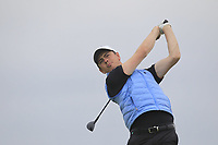 Shaun Carter (Royal Dublin) on the 12th tee during Round 2 of Match Play in the AIG Irish Close Championship at the European Club, Brits Bay, Wicklow, Ireland on Monday 6th August 2018.<br /> Picture: Thos Caffrey / Golffile