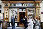 PARIS - FRANCE - 15 APRIL 2004--The mustard shop Maille at Place de la Madeleine.-- PHOTO: ERIK LUNTANG / EUP-IMAGES
