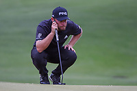 Tyrrell Hatton (ENG) lines up his putt on 5 during day 4 of the WGC Dell Match Play, at the Austin Country Club, Austin, Texas, USA. 3/30/2019.<br /> Picture: Golffile | Ken Murray<br /> <br /> <br /> All photo usage must carry mandatory copyright credit (© Golffile | Ken Murray)