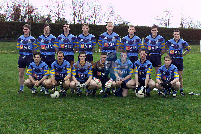 UCD team who played against St Marys in the Sigerson Cup semi Final in Walterstown Co Meath.Pic Fran Caffrey Newsfile.©Newsfile Ltd.