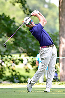 Bethesda, MD - July 1, 2018: Kevin Streelman tee's off on the 8th hole during final round of professional play at the Quicken Loans National Tournament at TPC Potomac at Avenel Farm in Bethesda, MD.  (Photo by Phillip Peters/Media Images International)