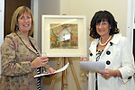 Ann Tracey and Anne Finnegan from the Gary Kelly Centre at the DIFE End of Year Exhibition in the D Hotel...Photo NEWSFILE/Jenny Matthews.(Photo credit should read Jenny Matthews/NEWSFILE)....This Picture has been sent you under the condtions enclosed by:.Newsfile Ltd..The Studio,.Millmount Abbey,.Drogheda,.Co Meath..Ireland..Tel: +353(0)41-9871240.Fax: +353(0)41-9871260.GSM: +353(0)86-2500958.email: pictures@newsfile.ie.www.newsfile.ie.FTP: 193.120.102.198.