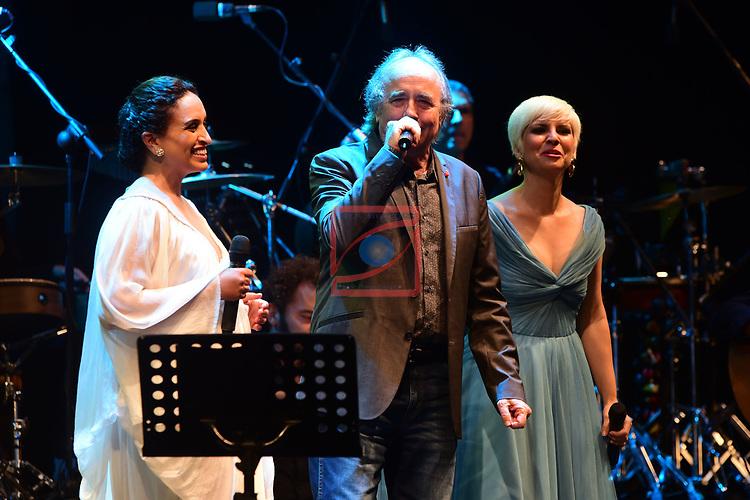 Festival de Musica de Barcelona.<br /> Festival Jardins de Pedralbes 2017.<br /> Noa &amp; Pasion Vega - Mediterraneas.<br /> With Joan Manuel Serrat.