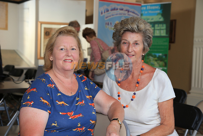 Rhona McKay, Breda Early<br /> at the old Drogheda society lunchtime talks in the Tholsel<br /> Picture:  www.newsfile.ie