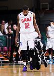 S&ouml;dert&auml;lje 2014-10-11 Basket Basketligan S&ouml;dert&auml;lje Kings - Ume&aring; BSKT :  <br /> Ume&aring;s Germaine Jordan deppar under matchen mellan S&ouml;dert&auml;lje Kings och Ume&aring; BSKT <br /> (Foto: Kenta J&ouml;nsson) Nyckelord:  S&ouml;dert&auml;lje Kings SBBK Basket Basketligan T&auml;ljehallen Ume&aring; BSKT depp besviken besvikelse sorg ledsen deppig nedst&auml;md uppgiven sad disappointment disappointed dejected