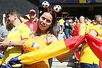 15.06.2016: Rumänien vs. Schweiz