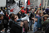 May 1, 2012, thousands of Occupy Toronto protesters, supporters and workers groups converged at Nathan Philips Square to rally and march through downtown Toronto, initiating Occupy 2.0.