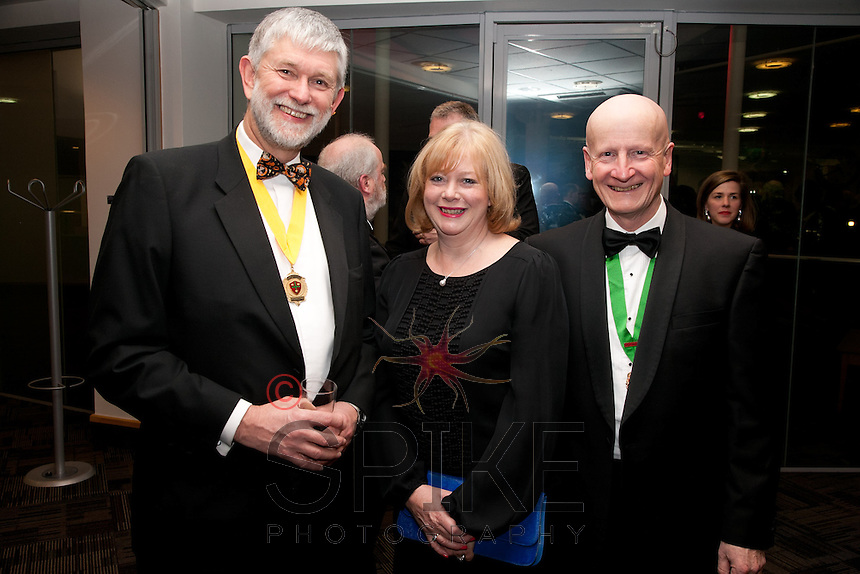 Deputy Vice President Richard Nelson, Helen and Paul Balen