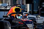 Aston Martin Red Bull Racing Honda, Alexander Albon, takes part in the tests for the new Formula One Grand Prix season at the Circuit de Catalunya in Montmelo, Barcelona. February 19, 2020 (ALTERPHOTOS/Javier Martínez de la Puente)