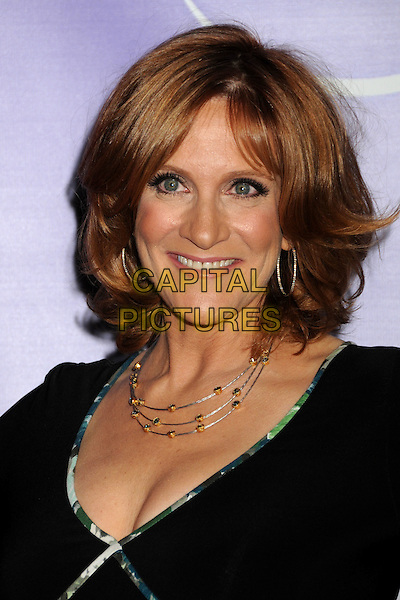 CAROL LEIFER .NBC Universal Press Tour Cocktail Party held at the Langham Hotel, Pasadena, California, USA, 10th January 2010..portrait headshot black necklace hoop earrings smiling .CAP/ADM/BP.©Byron Purvis/AdMedia/Capital Pictures.