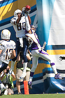 09/11/11 San Diego, CA: San Diego Chargers wide receiver Malcom Floyd #80 during an NFL game played at Qualcomm Stadium between the San Diego Chargers and the Minnesota Vikings. The Chargers defeated the Vikings 24-17.