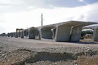 - cantiere per la costruzione del nuovo collegamento autostradale Brescia-Bergamo-Milano ( BreBeMi ) presso Urago D'Oglio<br /> <br /> - yard for the construction of new highway  link Brescia-Bergamo-Milan ( Brebemi ) at Urago D'Oglio